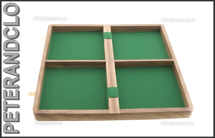 Echiquier jeu d 39 echecs bois 35 x35 cm fait main inde peterandclo 7356 ebay - Echiquier en bois fait main ...
