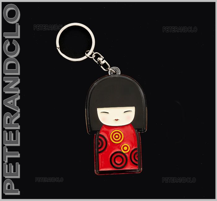 Porte cles collection poupee japonaise kokeshi e7 8350 ebay for Porte japonaise