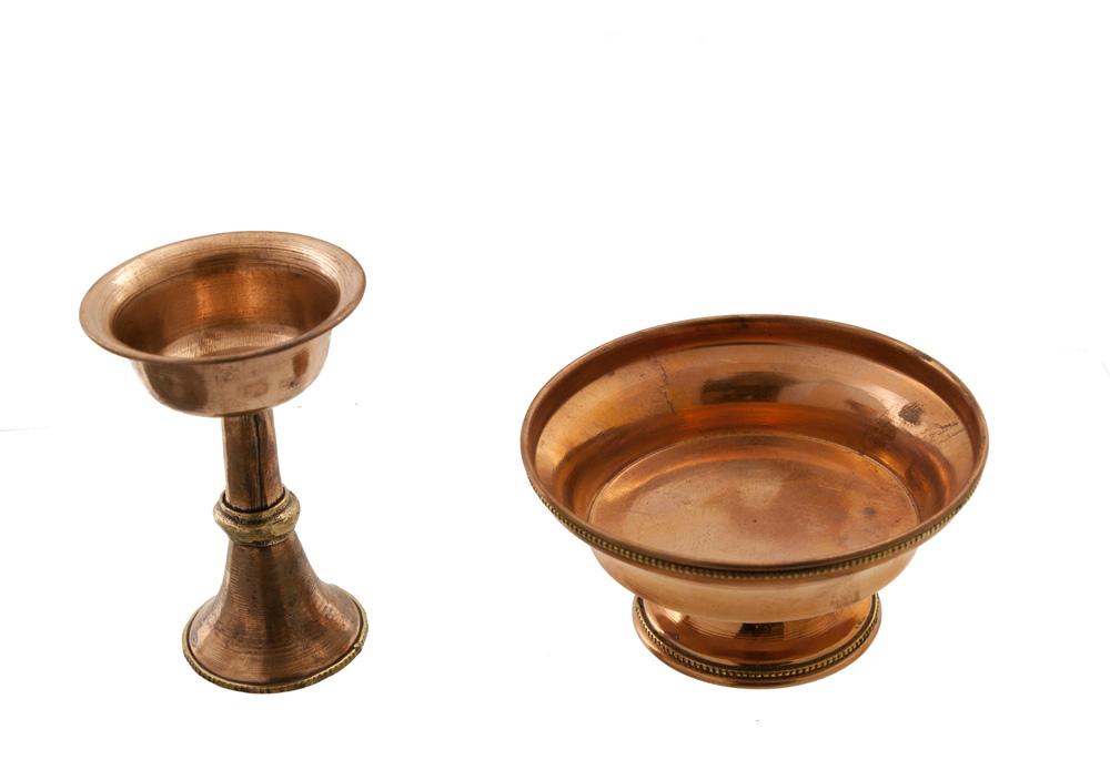 serkim serkyem a offrande en cuivre objet rituel. Black Bedroom Furniture Sets. Home Design Ideas
