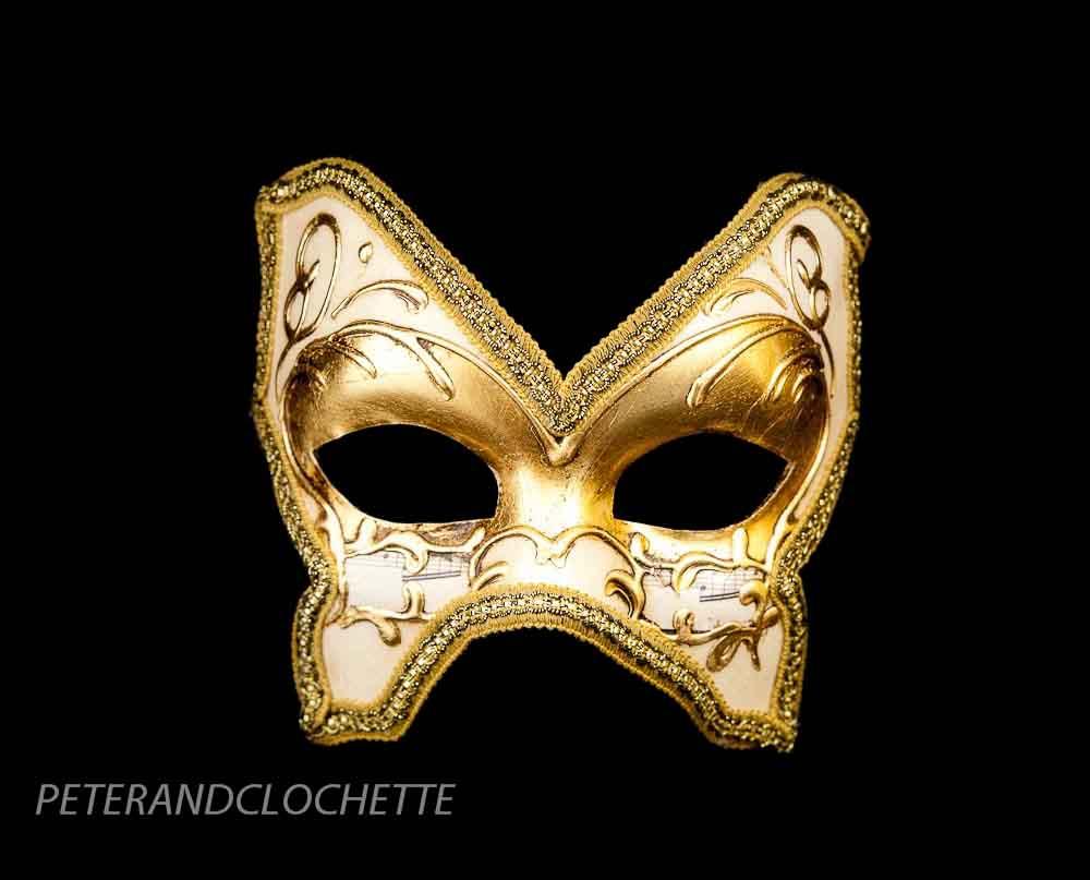 masque de venise colombine farfallina dore pour bal masque 961 v4b ebay. Black Bedroom Furniture Sets. Home Design Ideas