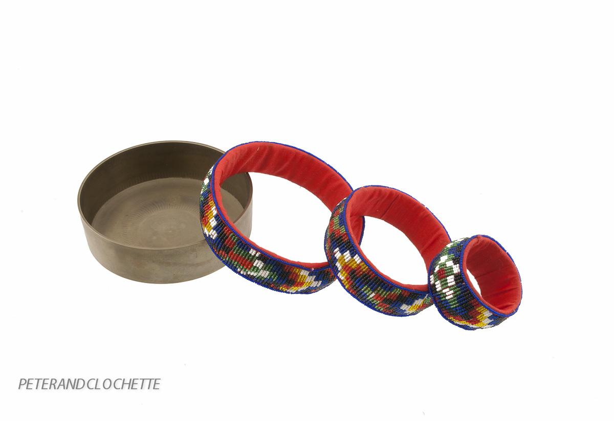 Set de mandala tibetains perles et laiton pour rituel for Chaise a palabre